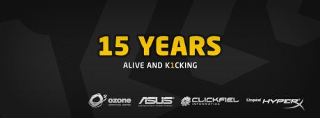 15 years banner