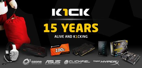 K1ck 15 Years Mega Contest
