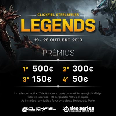 Clickfiel Steelseries Legends