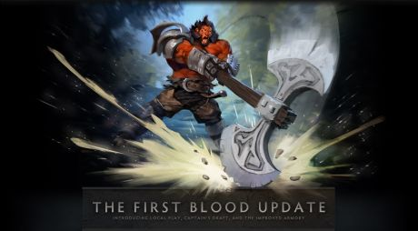 DotA 2 The First Blood Update