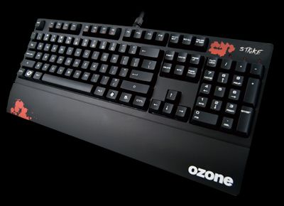 Ozone Strike keyboard