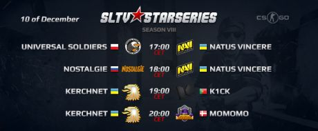 SLTV StarSeries Season VIII matches