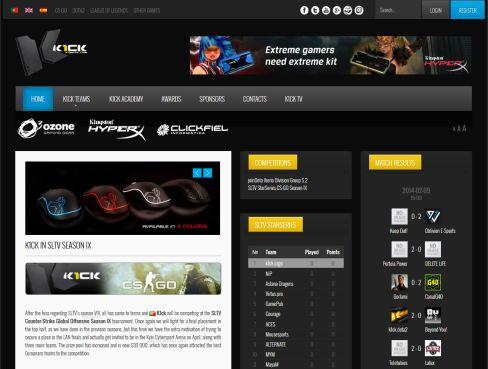 K1ck Website
