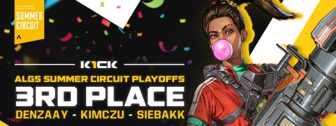 K1CK 3rd in the Apex Legends Summer Circuit!