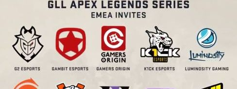 K1ck Convidados para o GLL Apex Legends Series