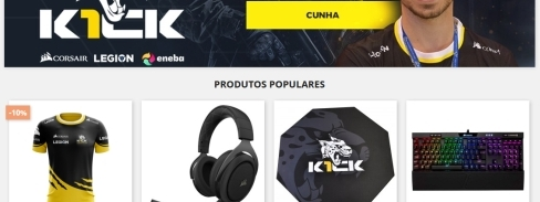 K1ck presents a new Online Store!