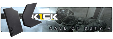 Call of Duty 4 eSports Club K1ck Multigaming Clan Logo