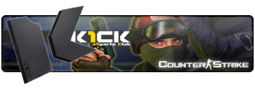 Counter-Strike eSports Club K1ck Multigaming Clan Logo