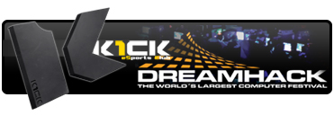 Dreamhack Counter-Strike eSports Club K1ck Multigaming Clan Logo