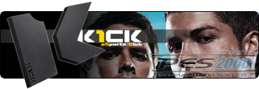 Pro Evolution Soccer 2008 eSports Club K1ck Multigaming Clan Logo