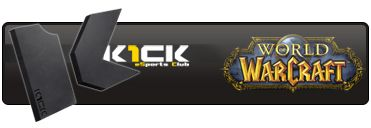 World of Warcraft eSports Club K1ck Multigaming Clan Logo