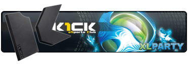 xlparty eSports Club K1ck Multigaming Clan logo