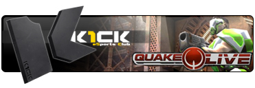 K1ck eSports Club Multigaming Clan Quake Live Logo